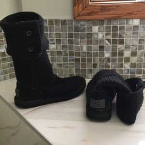 Classic Cardy Knitted Ugg boots